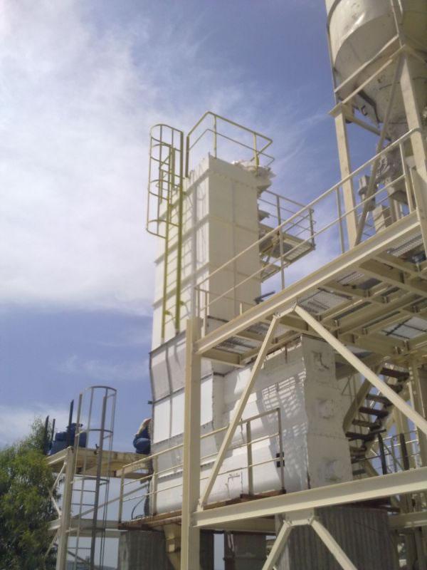 Φίλτρο αποκονίωσης σε επεξεργασία υδράσβεστου