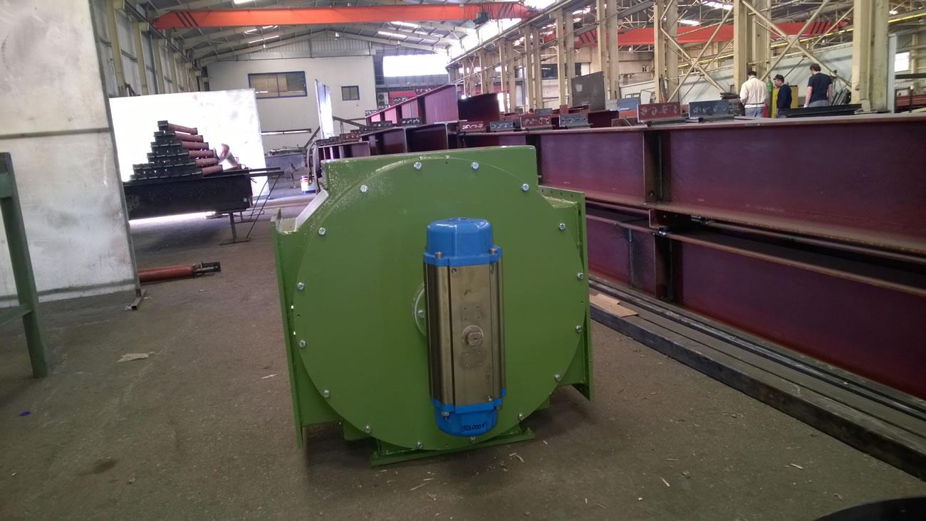Περιστροφικός τροφοδότης  (rotary bottom disharger)